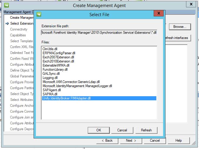UNIFYBroker/Microsoft Identity Manager Configuration